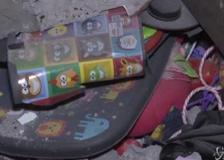 Strage di bambini a Gaza, i resti della casa distrutta dalle bombe