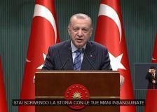 Israele, Erdogan a Biden: «Stai scrivendo la storia con le tue mani insanguinate»
