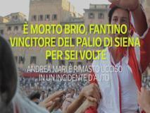 È morto Brio, fantino vincitore del Palio di Siena per sei volte