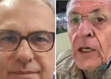 Milan, la disperazione dei telecronisti-tifosi Pellegatti e Suma durante la diretta