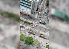 Cina: oscilla grattacielo a Shenzhen, edificio evacuato e panico