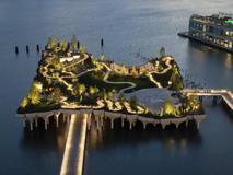 Little Island, il nuovo parco galleggiante a New York City
