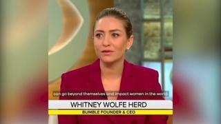 Whitney Wolfe: «Con Bumble, diamo alle donne il potere di scegliere, di fare la prima mossa»