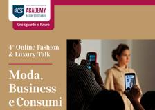 Online Fashion & Luxury Talks - RCS Academy e Corriere della Sera - Moda, business e consumi La diretta