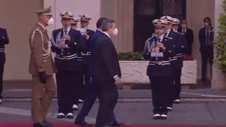 Il presidente del Consiglio Mario Draghi riceve il premier libico Abdul Hamid Dbeibah La diretta