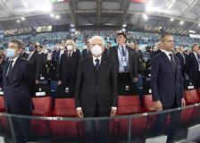 Europei, Mattarella all'Olimpico per Turchia-Italia