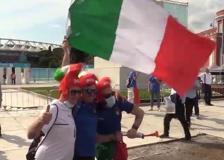 Europei, entusiasmo fuori dall'Olimpico per Turchia-Italia