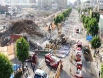Corea del sud, un edificio crolla su un autobus, nove i morti