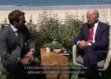 G7, Macron: «Biden ha mostrato una grande collaborazione»