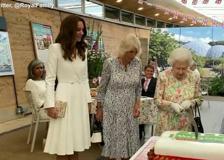 G7, la Royal Family superstar in Cornovaglia