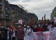Myanmar, nuovo flash mob a sostegno di Aung San Suu Kyi