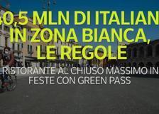40,5 milioni di italiani in zona bianca, le regole