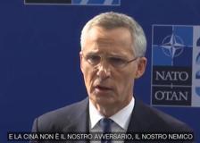 Nato, Stoltenberg: «Nessuna nuova guerra fredda con la Cina»