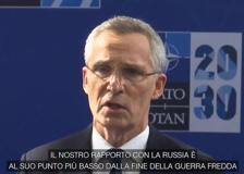 Nato, Stoltenberg: «Con la Russia rapporti ai livelli della Guerra Fredda»