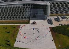 La sede della Nato vista dall'alto: il video dal drone