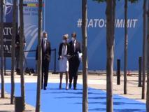 Nato, il premier Draghi arriva al Summit