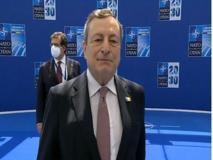Nato, Draghi: «Qui per la riaffermazione delle alleanze e dell'importanza della Ue»
