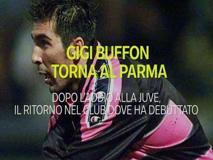 Gigi Buffon al Parma, 26 anni dopo torna nella squadra che lo lanciò in Serie A