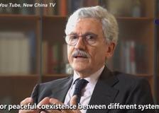 La Cina rilancia un'intervista a D'Alema: «Pechino ha il merito di aver fatto uscire 800 milioni di persone dalla povertà»
