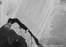 Antartide, il ghiacciaio di Pine Island si sbriciola rapidamente: il timelapse