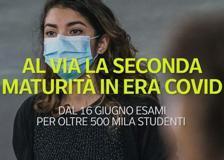 Al via la seconda maturità in era Covid: dal 16 giugno esami per oltre 500 mila studenti