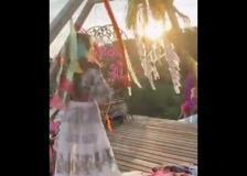 Michela Persico festeggia i 30 anni in stile Coachella