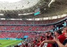 Europei, 66 mila spettatori allo stadio a Budapest (senza mascherina)