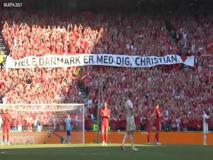 Europei, Belgio e Danimarca si fermano al 10' per il tributo ad Eriksen