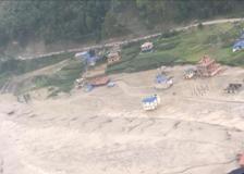 Nepal, le impressionanti immagini dell'alluvione dall'elicottero