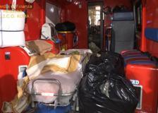 Messina, trasportavano marijuana con l'ambulanza: 8 arresti