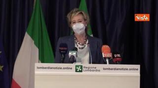 Moratti: «La Lombardia sarà la prima regione a sequenziare tutti i tamponi positivi»