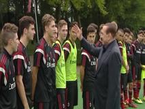 Berlusconi e la profezia su Locatelli: «Mi hanno parlato molto bene di te»