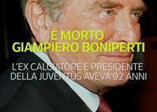È morto Giampiero Boniperti, una vita per la Juventus