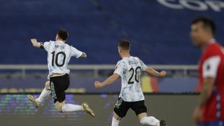 Copa America: Messi illumina l'Argentina contro l'Uruguay, non fa gol ma il suo assist è decisivo