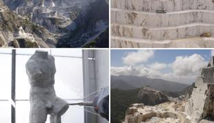 Carrara, nelle cave di marmo di Michelangelo lo scultore oggi è un robot. «Qui nascono i capolavori degli artisti»