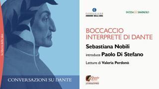 Conversazioni su Dante, Boccaccio interprete di Dante