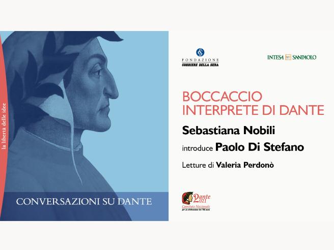 Conversazioni su Dante, Boccaccio interprete di Dante Diretta