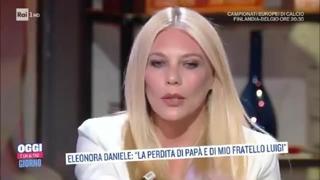 Eleonora Daniele parla del fratello autistico