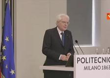 Mattarella: «Per l'Italia un nuovo inizio, no ritorno a condizioni pre-pandemia»