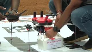 In India si testano i droni per consegnare i vaccini Covid nelle zone più remote