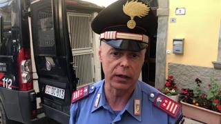 Il carabiniere che ha soccorso il bambino scomparso: «Mi si è subito aggrappato al collo»