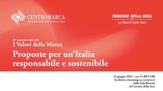 I valori della marca: proposte per un'Italia responsabile e sostenibile
