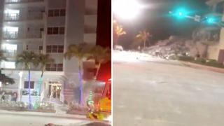 Miami, crolla un palazzo di 12 piani: le prime immagini