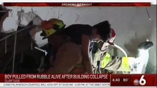Miami, crolla un palazzo di 12 piani: un bambino viene estratto vivo dalle macerie