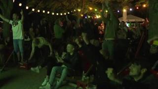 Europei, i tifosi tedeschi festeggiano il passaggio agli ottavi