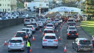 Covid, scatta il lockdown in alcuni quartieri di Sydney