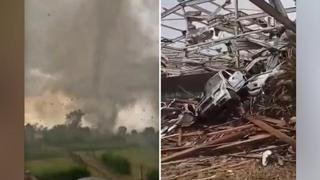 Repubblica Ceca, la furia del tornado distrugge tutto: morti e feriti