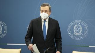 L'incontro tra Mario Draghi e Mustafa Al-Kadhimi, presidente del Consiglio della Repubblica dell'Iraq La diretta