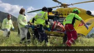 Elisoccorso, i costi per gestire l'emergenza