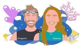 Due talenti del nuoto italiano